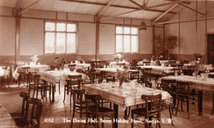 The Dining Hall, Savoy Holiday Hotel, 1939.